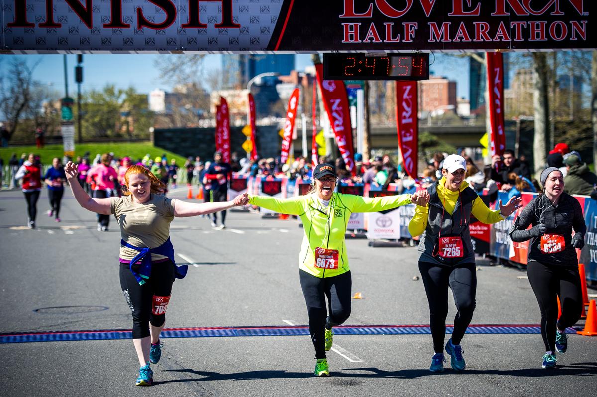 Philadelphia Love Run Half Marathon 2018